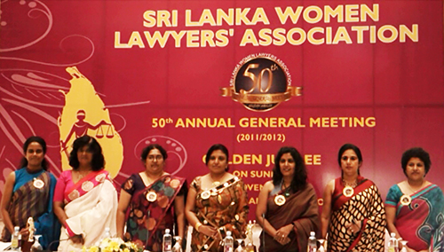 50th Annual General Meeting of the Sri Lanka Women Lawyers' Association (Golden Jubilee) - 2011/2012