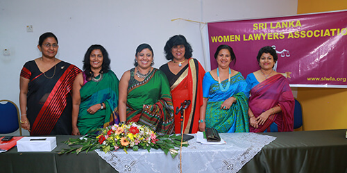 52nd Annual General Meeting of the Sri Lanka Women Lawyers' Association - 2015/2016