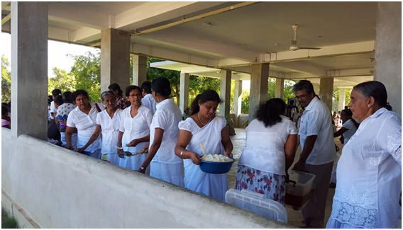 Distribution of Poshana Malu to Pregnant Ladies
