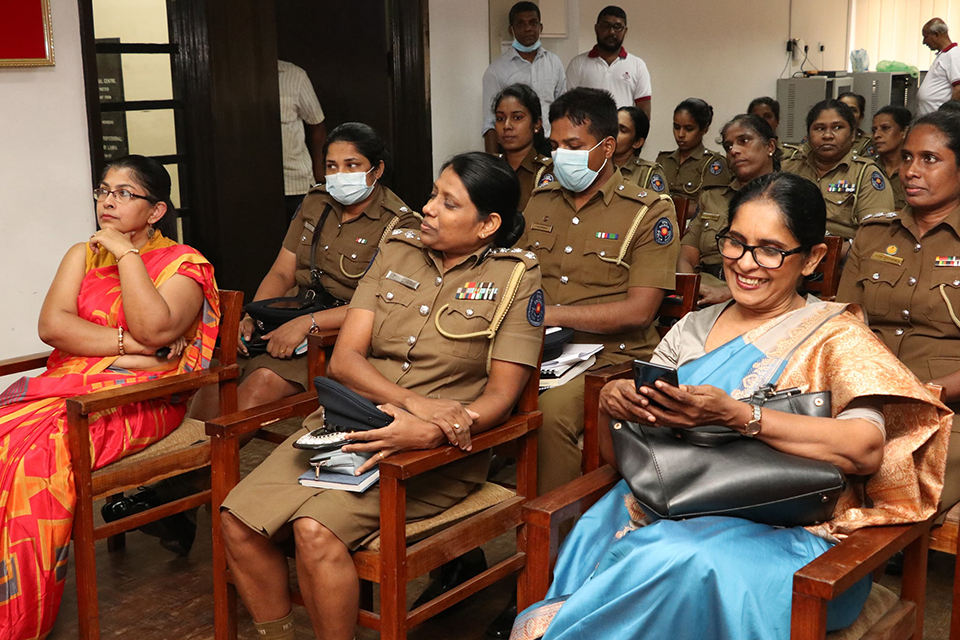 Seminar on 'Sexual Harassment of women in Sri Lanka'